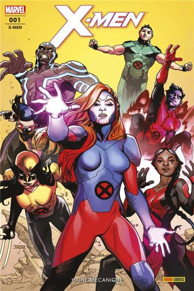 Couverture X-men (fresh start) tome 1
