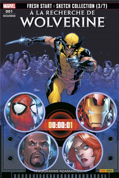 Couverture Wolverine (fresh start) tome 1