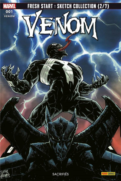 Couverture Venom (fresh start) tome 1