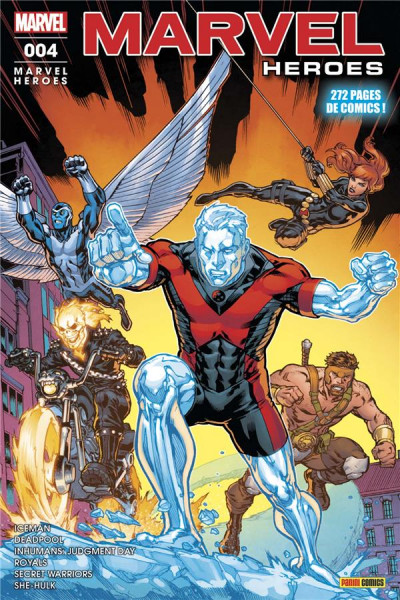 Couverture Marvel heroes tome 4