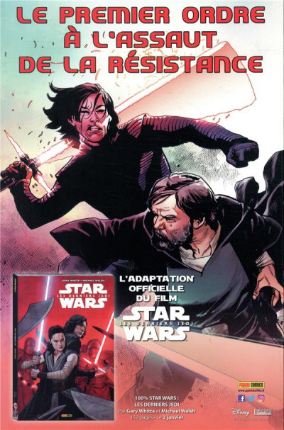 Dos Star wars - fascicule série 2 tome 11 (couverture 1/2)