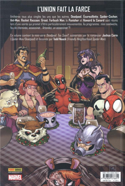 Dos Deadpool - Trop tôt ?