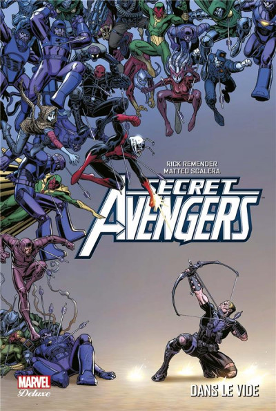 Couverture Secret Avengers par Rick Remender tome 2