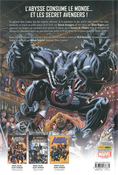 Dos Secret Avengers par Rick Remender tome 2
