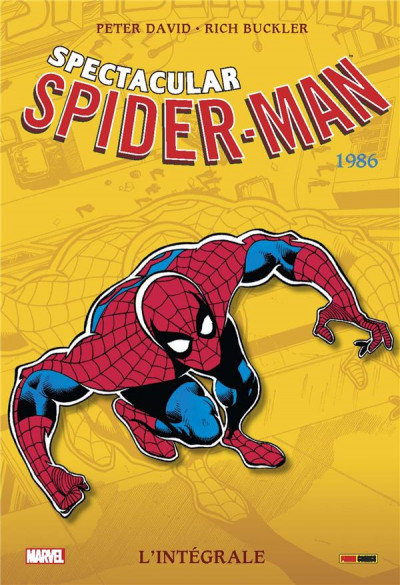 Couverture Spectacular Spider-Man - intégrale tome 42 - 1986