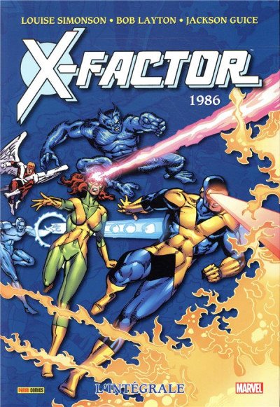 Couverture X-Factor - intégrale tome 1 - 1986