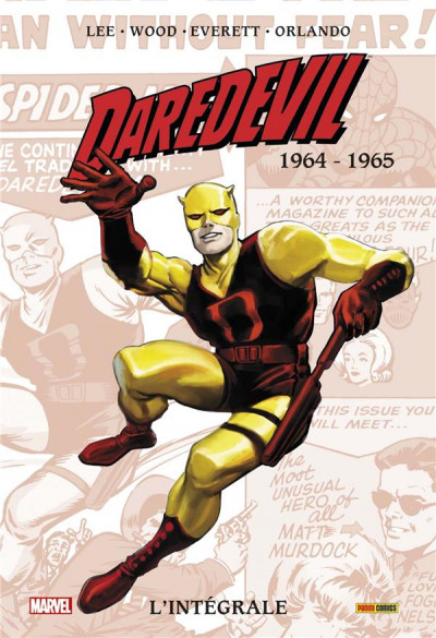 Couverture Daredevil ; INTEGRALE VOL.1 ; 1964-1965