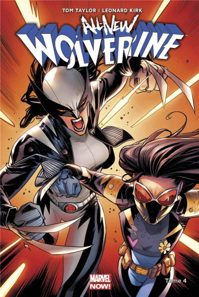 Couverture All-new Wolverine tome 4