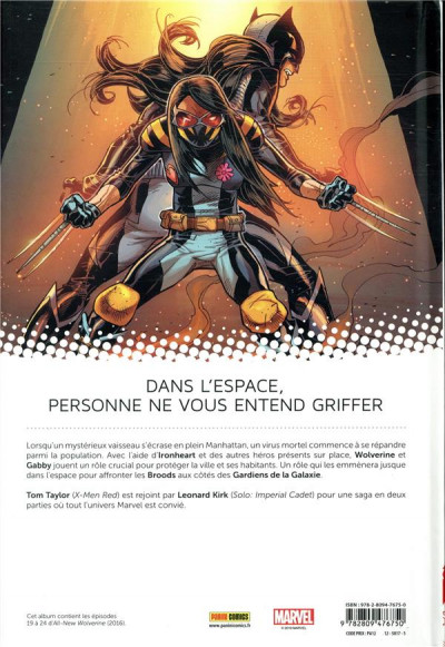 Dos All-new Wolverine tome 4