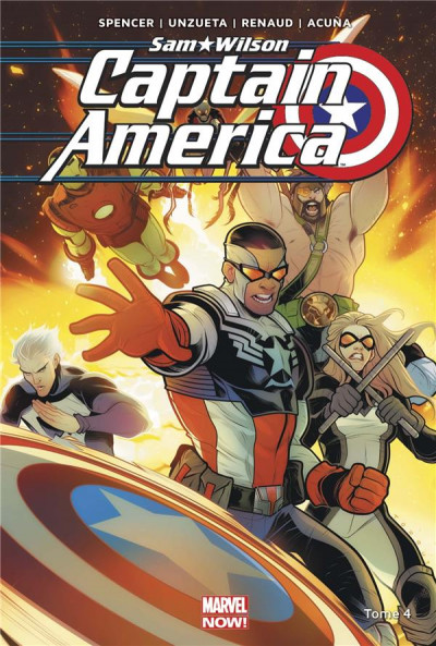Couverture Captain America - Sam Wilson tome 4