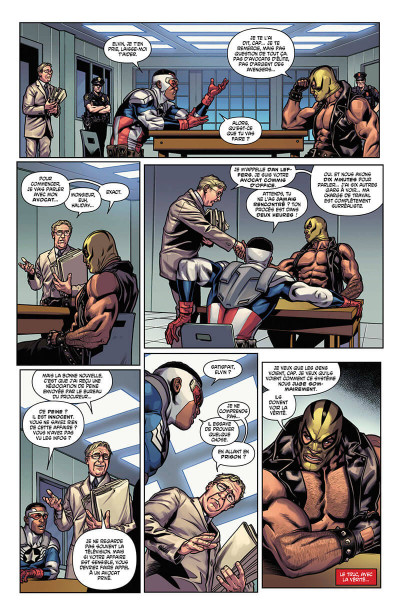 Page 8 Captain America - Sam Wilson tome 4
