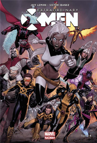Couverture Extraordinary X-Men tome 4