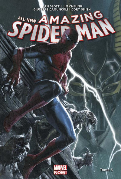 Couverture All-new amazing Spider-Man tome 5