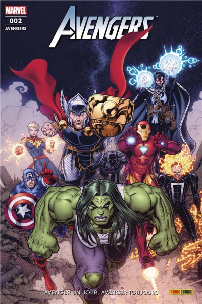 Couverture Avengers (fresh start) tome 2