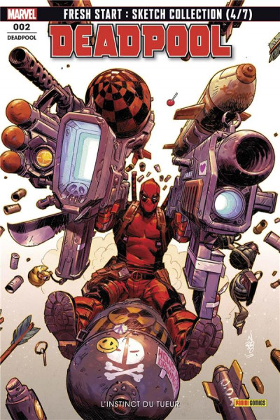 Couverture Deadpool (fresh start) tome 2