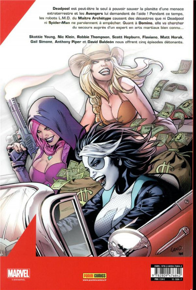 Dos Deadpool (fresh start) tome 2