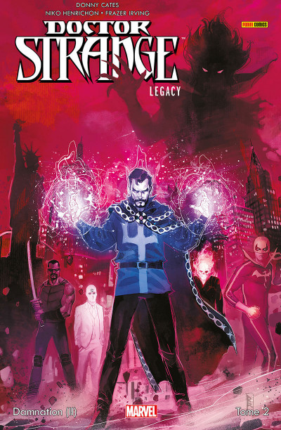 Couverture Doctor Strange - Legacy tome 2