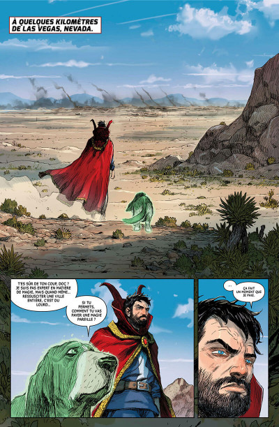 Page 8 Doctor Strange - Legacy tome 2