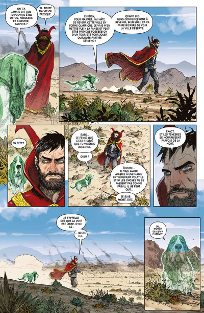 Page 9 Doctor Strange - Legacy tome 2