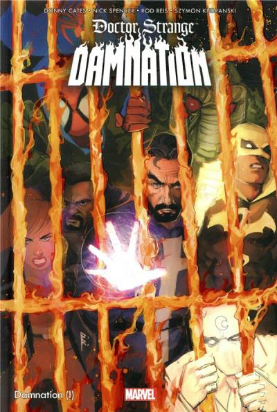 Couverture Doctor Strange - Damnation