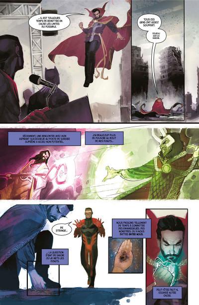 Page 6 Doctor Strange - Damnation