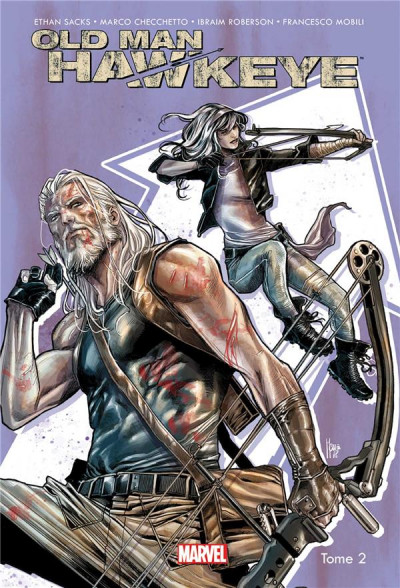 Couverture Old man Hawkeye tome 2