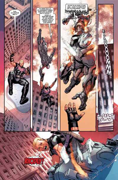 Page 8 Old man Hawkeye tome 2