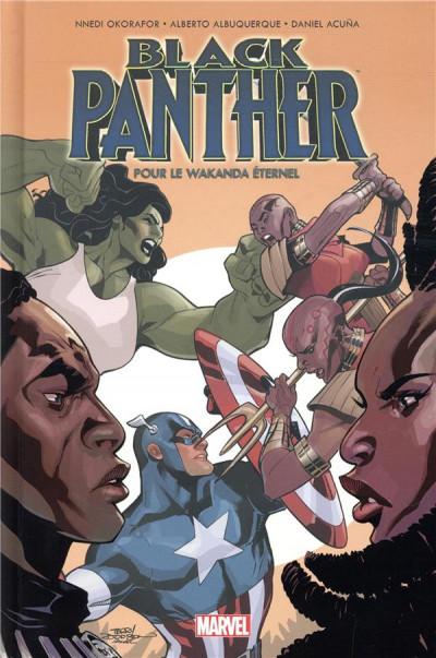 Couverture Black Panther - Pour le wakanda éternel
