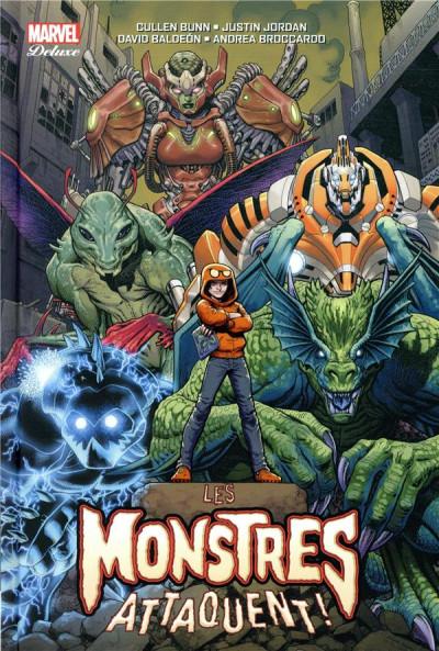 Couverture Les monstres attaquent tome 2