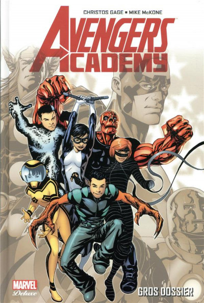 Couverture Avengers academy tome 1