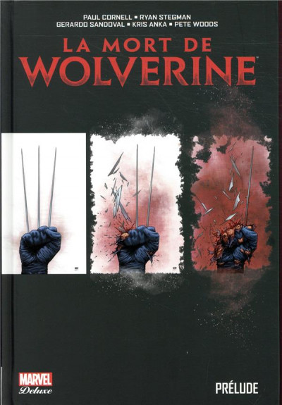 Couverture La mort de Wolverine - prélude