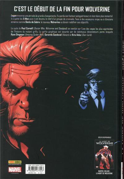 Dos La mort de Wolverine - prélude