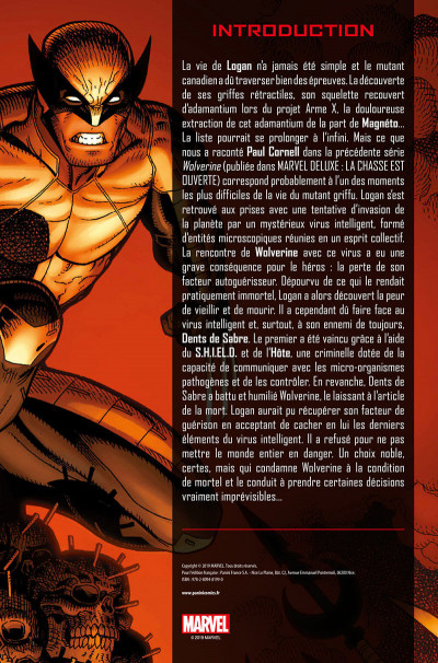 Page 3 La mort de Wolverine - prélude