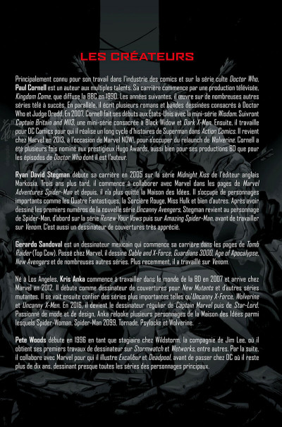 Page 4 La mort de Wolverine - prélude