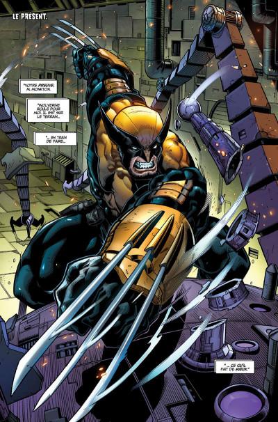 Page 7 La mort de Wolverine - prélude