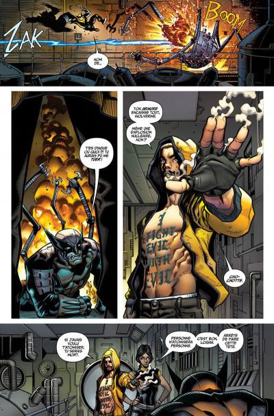 Page 8 La mort de Wolverine - prélude
