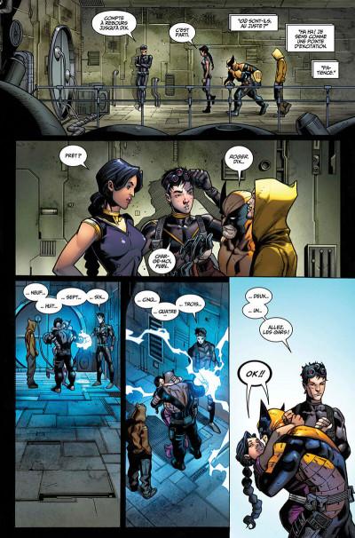 Page 9 La mort de Wolverine - prélude