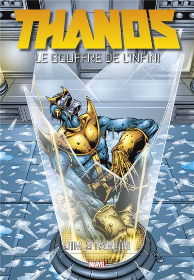 Couverture Thanos - Le gouffre de l'infini