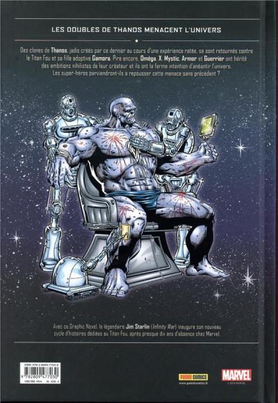 Dos Thanos - Le gouffre de l'infini