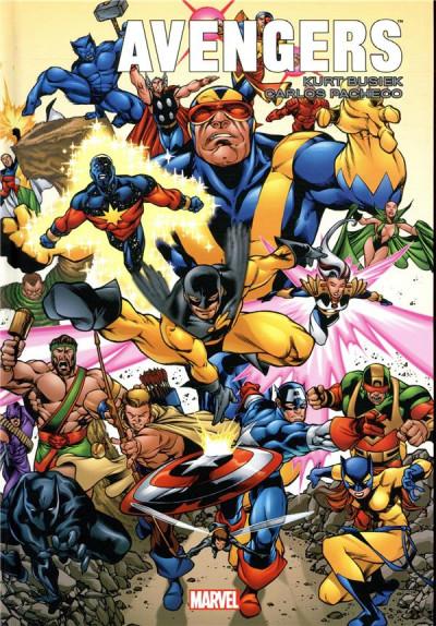 Couverture Avengers forever par Busiek et Pacheco