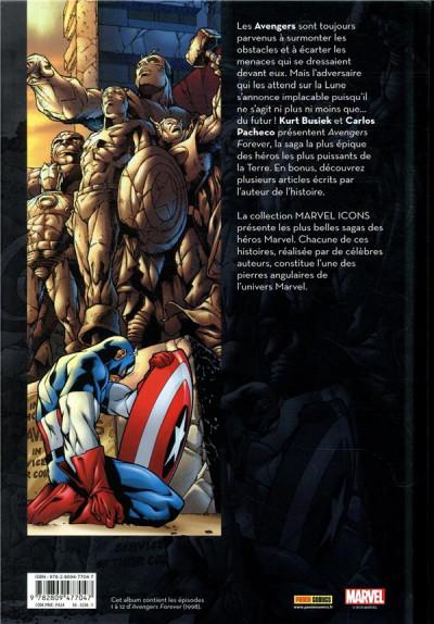 Dos Avengers forever par Busiek et Pacheco