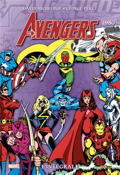 Couverture Avengers - intégrale tome 17 - 1980