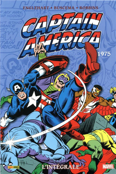 Couverture Captain America - intégrale tome 9 - 1975