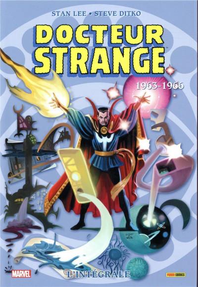 Couverture Docteur Strange - intégrale tome 1 - 1963/1966