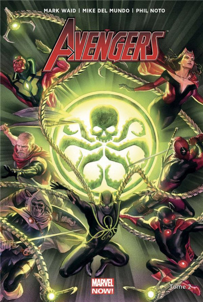 Couverture Avengers tome 2 - Secret empire