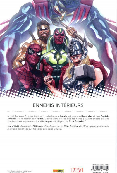 Dos Avengers tome 2 - Secret empire