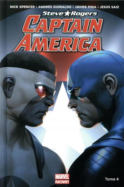 Couverture Captain America - Steve Rogers tome 4
