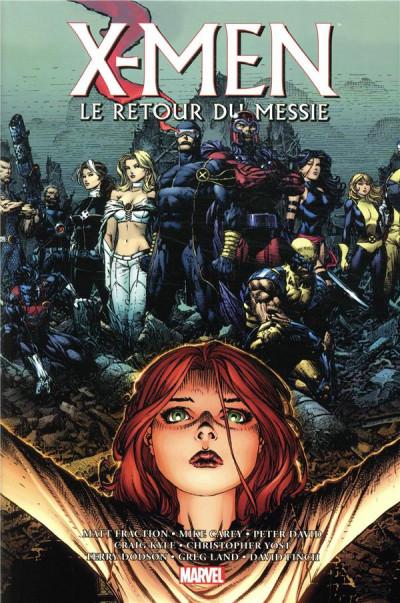 Couverture X-Men le retour du messie - Omnibus