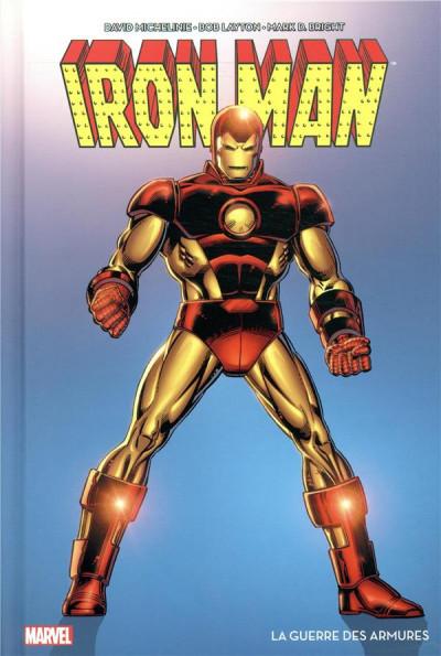 Couverture Iron Man - La guerre des armures