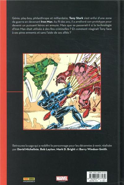 Dos Iron Man - La guerre des armures